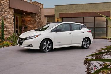 2020 Nissan Leaf SV Hatchback Slide 0