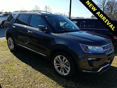 Magnetic Metallic 2018 Ford Explorer LIMITED 4D Sport Utility Lexington NC