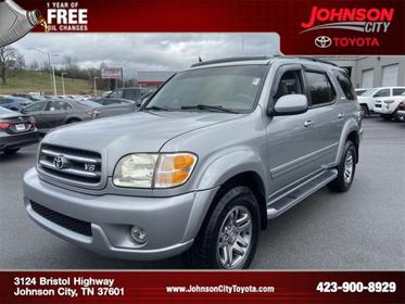 2003 Toyota Sequoia LIMITED Slide