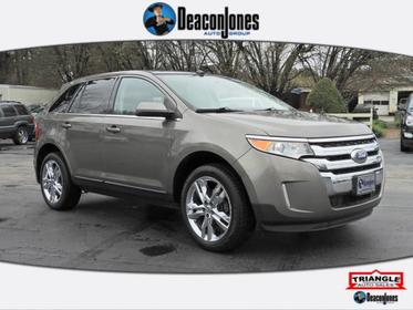 Gray 2012 Ford Edge LIMITED Station Wagon