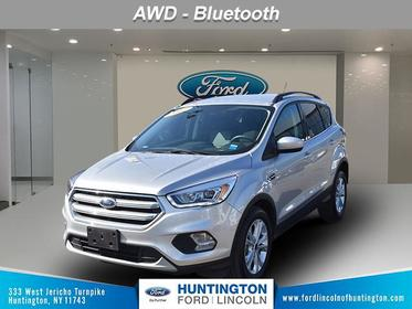 Ingot Silver Metallic 2017 Ford Escape SE SUV Huntington NY