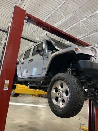 2015 Jeep Wrangler Unlimited SAHARA Slide 0