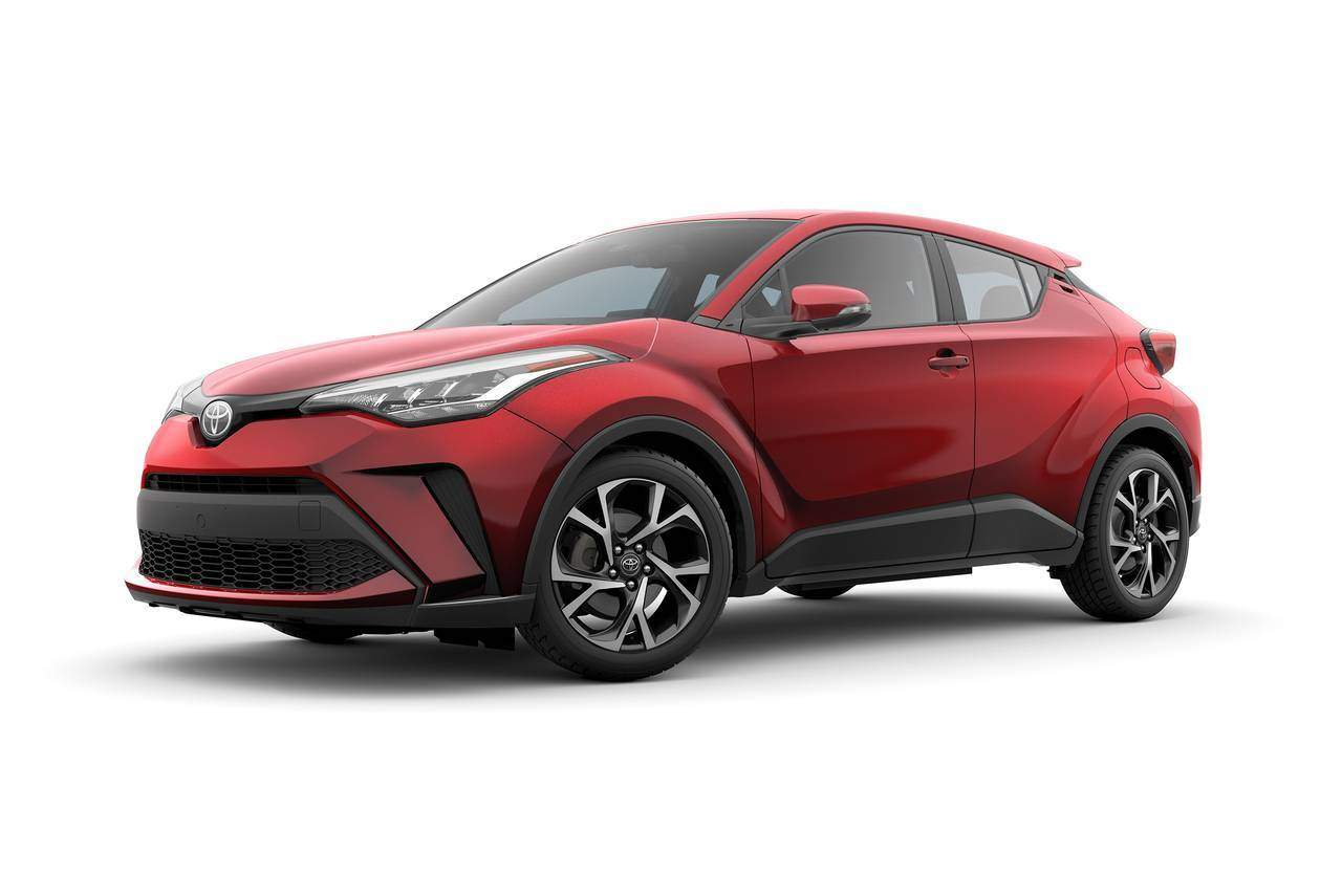 2020 Toyota C-HR LE LE 4dr Crossover Slide 0