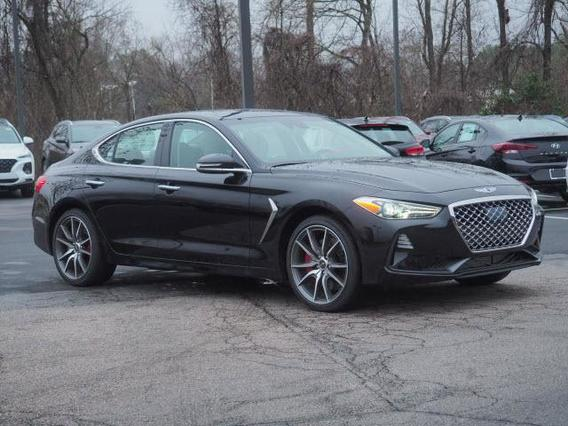 2020 Genesis G70 3.3T 4dr Car Slide 0