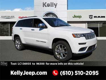Bright White Clearcoat 2020 Jeep Grand Cherokee SUMMIT SUV Emmaus PA