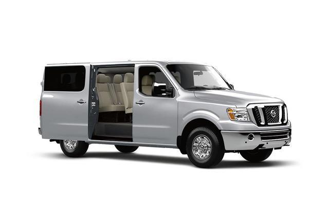 2020 Nissan NV Passenger SL Van Slide 0
