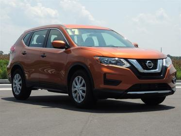 Monarch Orange 2017 Nissan Rogue S