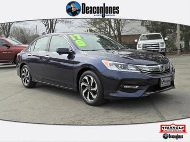 Blue 2017 Honda Accord Sedan EX-L 4dr Car Smithfield NC