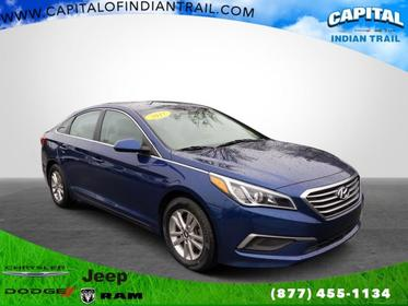 Lakeside Blue 2017 Hyundai Sonata 2.4L Indian Trail NC