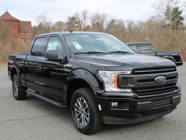 Black Metallic 2020 Ford F-150 XLT Crew Cab Pickup Winston-Salem NC
