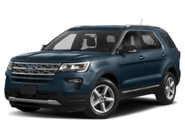 Gray 2018 Ford Explorer LIMITED Sport Utility Smithfield NC