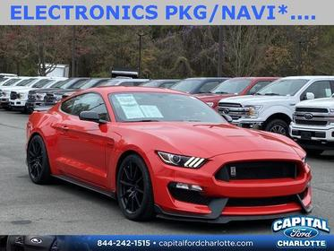 Race Red 2017 Ford Mustang SHELBY GT350 2D Coupe Charlotte NC