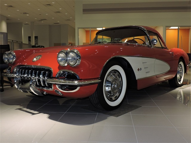 1959 Chevrolet Corvette COUPE Slide