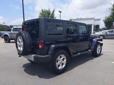 2015 Jeep Wrangler Unlimited SAHARA Convertible Garner NC