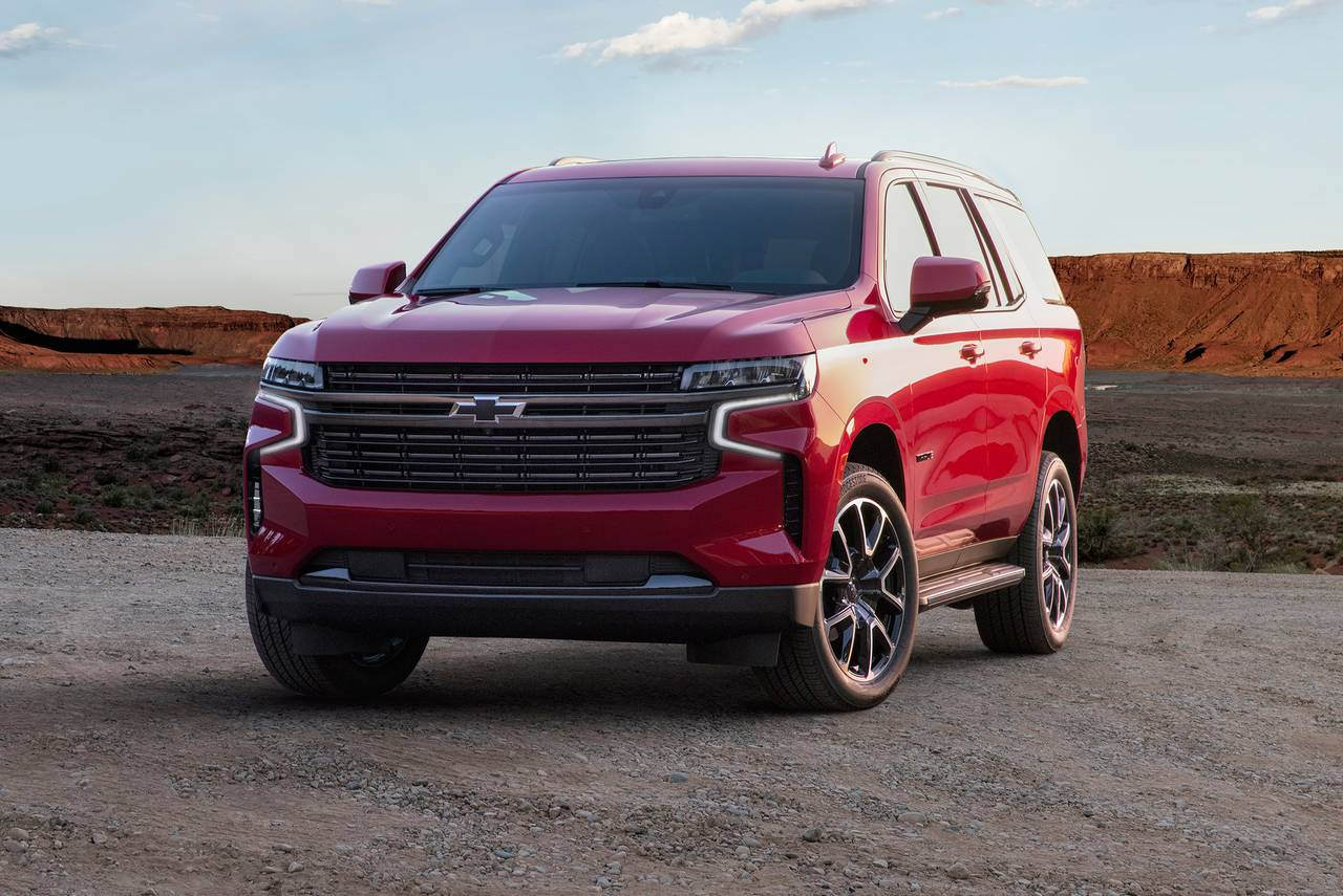 2021 Chevrolet Tahoe HIGH COUNTRY Slide 0