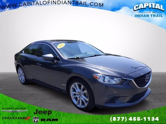 2015 Mazda Mazda6 I TOURING 4dr Car Slide 0