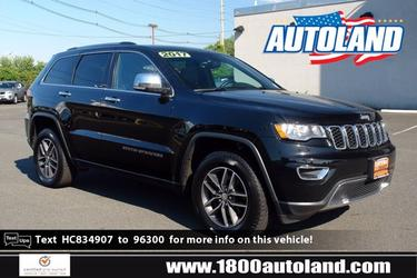 2017 Jeep Grand Cherokee LIMITED Sport Utility Slide 0
