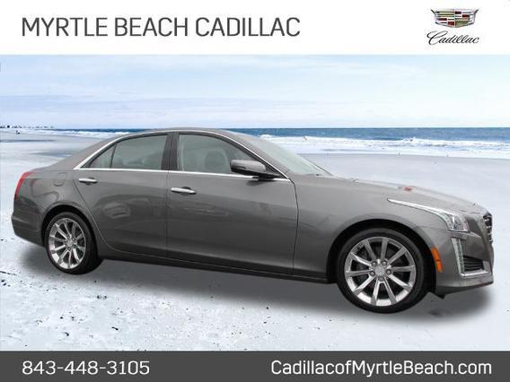 2017 Cadillac CTS 2.0T LUXURY 2.0T Luxury 4dr Sedan Slide 0