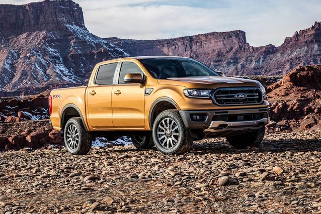 2020 Ford Ranger XLT Extended Cab Pickup Slide 0