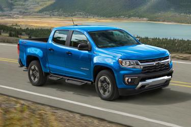 2021 Chevrolet Colorado LT Slide