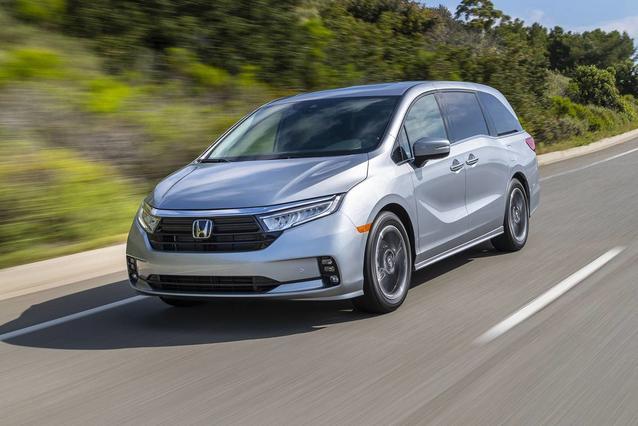 2021 Honda Odyssey TOURING Mini-van, Passenger Slide 0