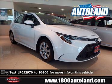 2020 Toyota Corolla LE 4dr Car Slide