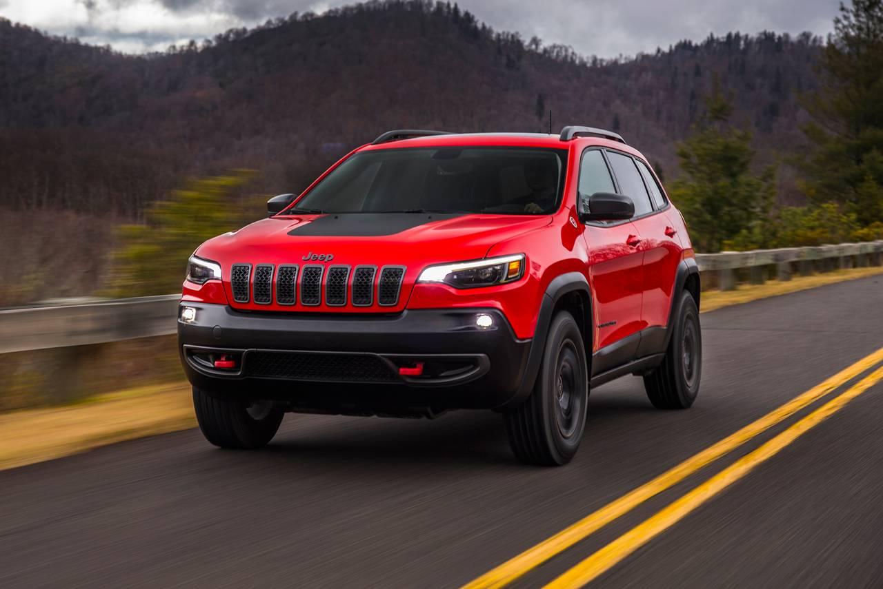 Select New 2021 Jeep Cherokee Models