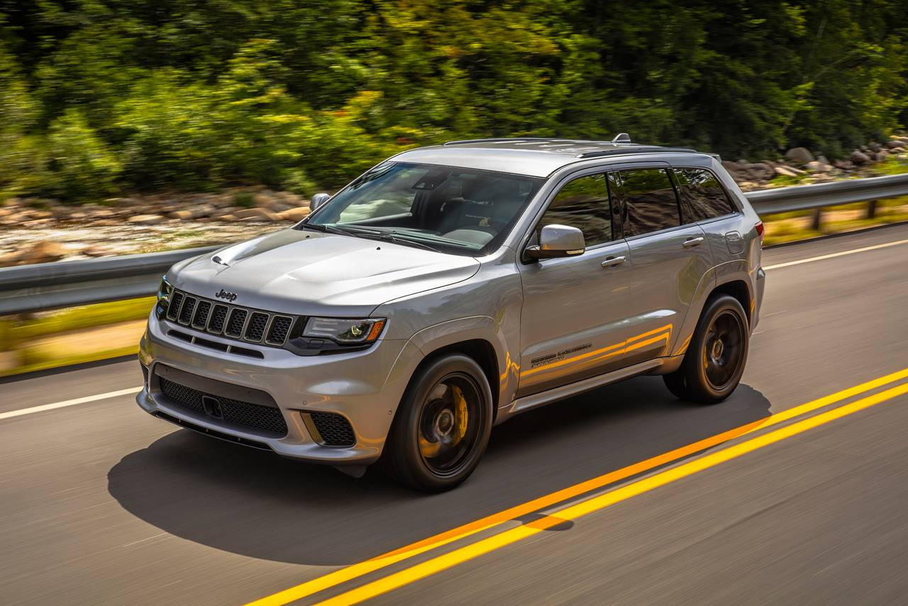 Select New 2021 Jeep Grand Cherokee Models