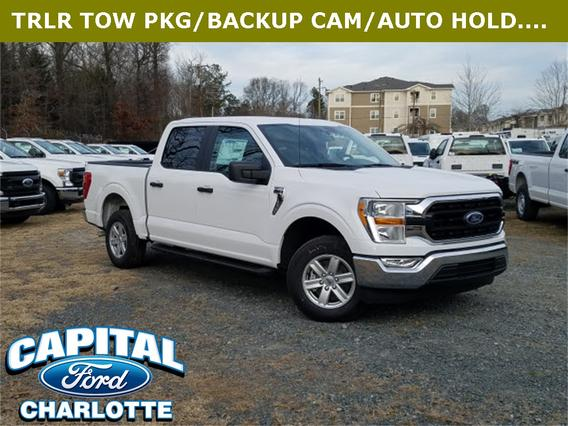 2021 Ford F-150 XLT Crew Cab Pickup Slide 0