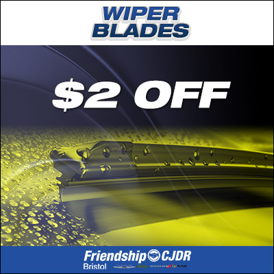 Wiper Blades Coupon