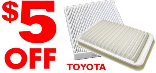Buy One Engine Air Filter - Get One Cabin Air Filter $5 OFF