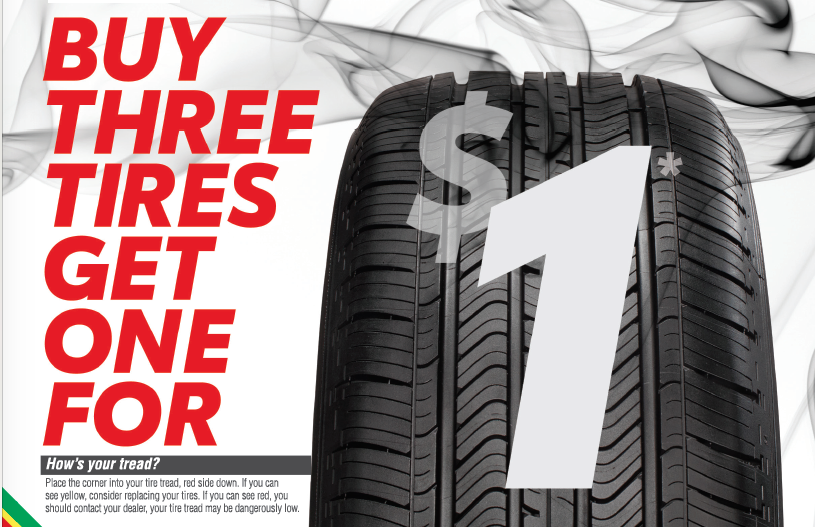 Midstate Toyota Tire Savings Event