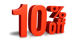 10% off any spark plug purchase