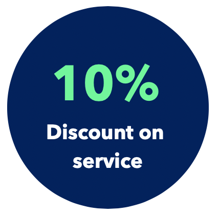 Service Discount Offer