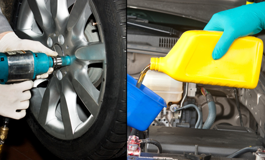 Oil Change And Tire Rotation Service Parts Coupons