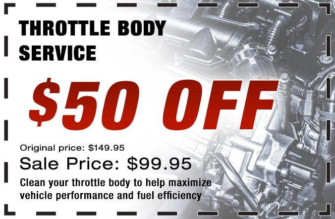 Throttle Body Service