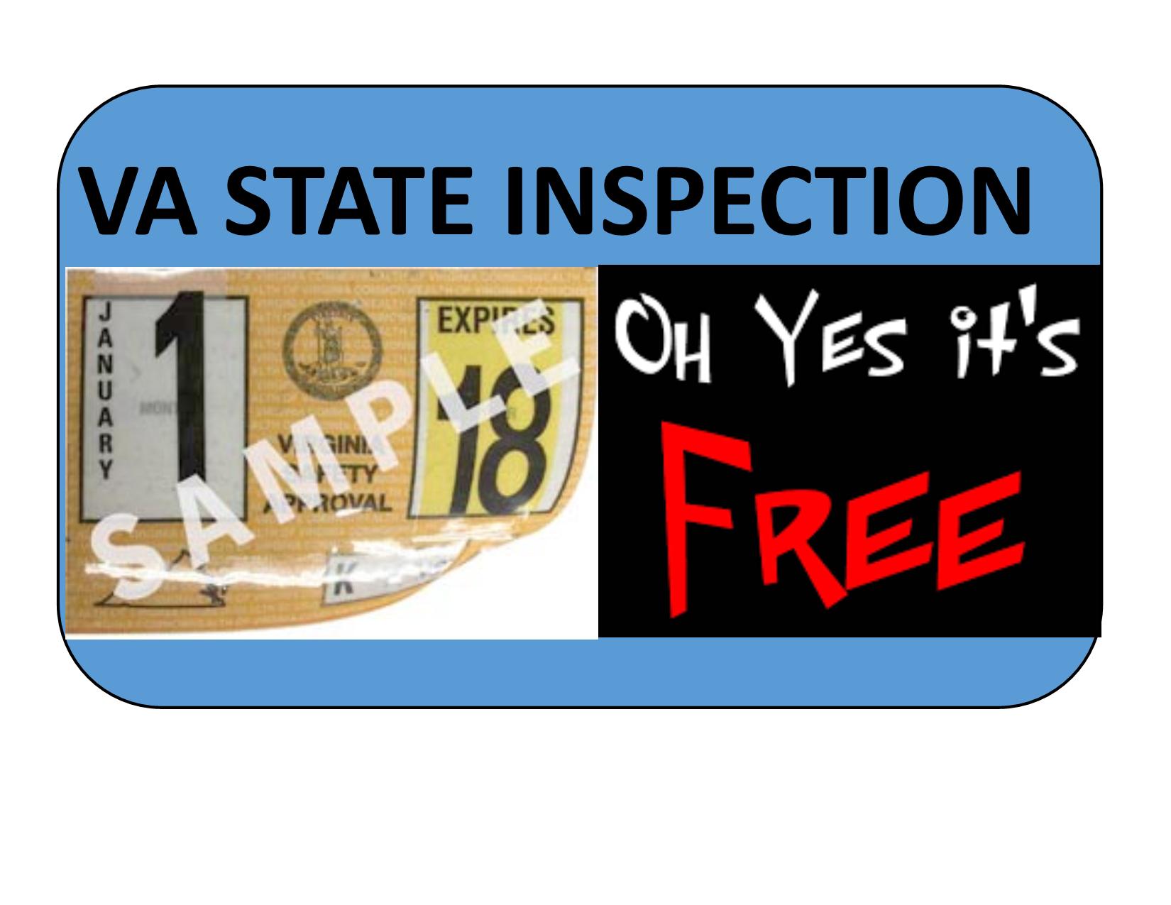 VA State Inspection