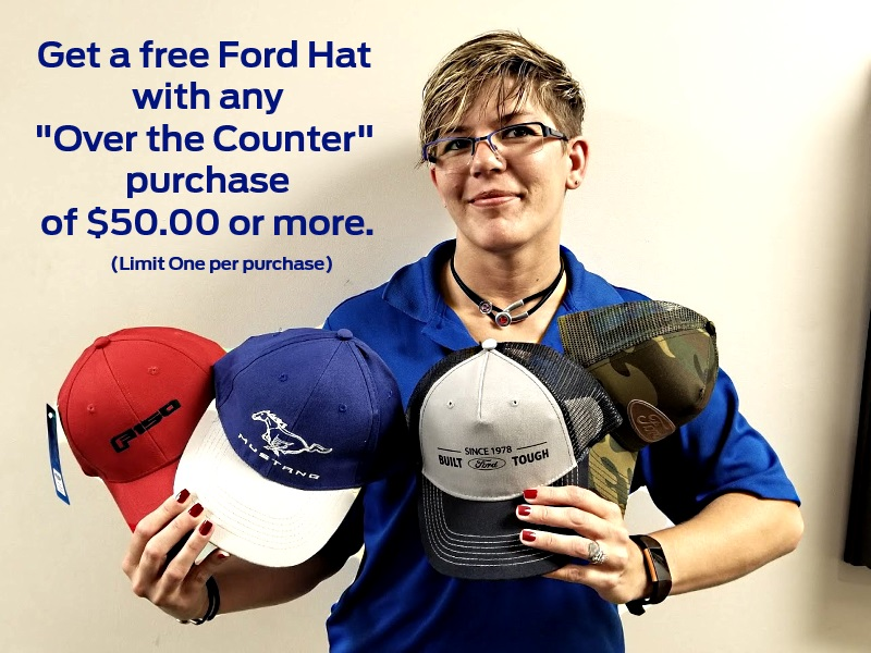Ask for the Hat Special!
