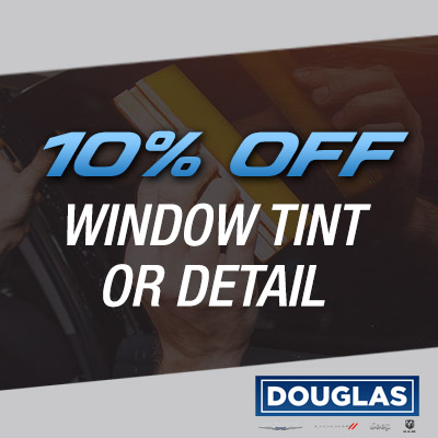 10% OFF WINDOW TINT OR DETAIL