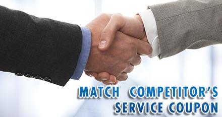 Competitor Price Match