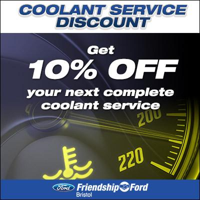Coolant Service Discount
