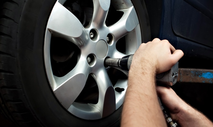 Tire Rotation & Brake Inspection