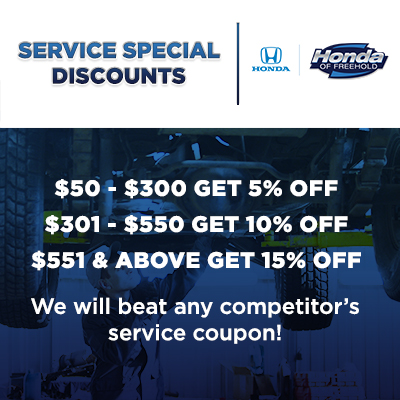 Special Service Discounts