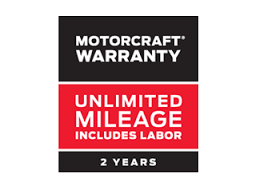 *MOTORCRAFT® WARRANTY: TWO YEARS. UNLIMITED MILEAGE. INCLUDES LABOR.*