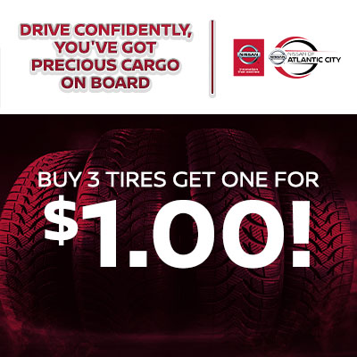 Buy 3 Tires Get One for $1