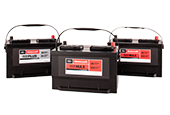 Get a $40 rebate by mail on Motorcraft® Tested Tough® PLUS and MAX Batteries when you use the Ford Service Credit Card.*