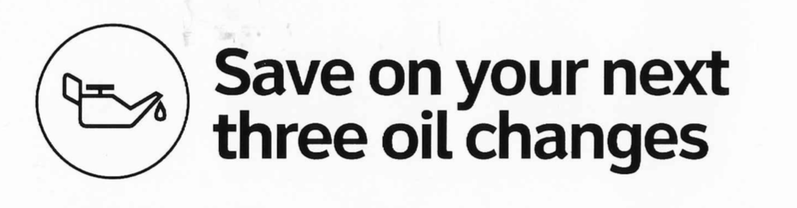 Save On Your Next Three Oil Changes