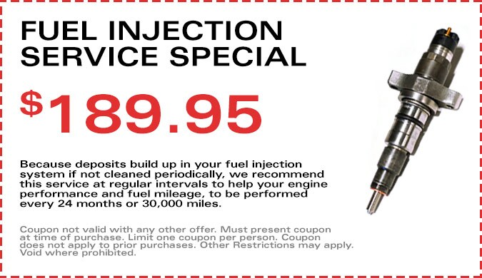 Fuel Injection Service Special