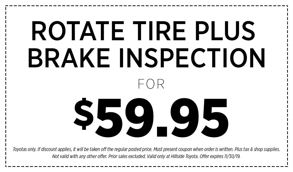 Tire/Break Special