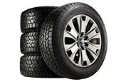 Buy 4 Tires + First Alignment